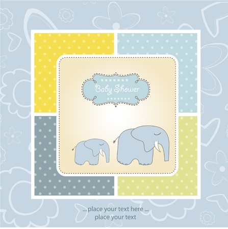 new baby arrived Stock Vector - 11154283