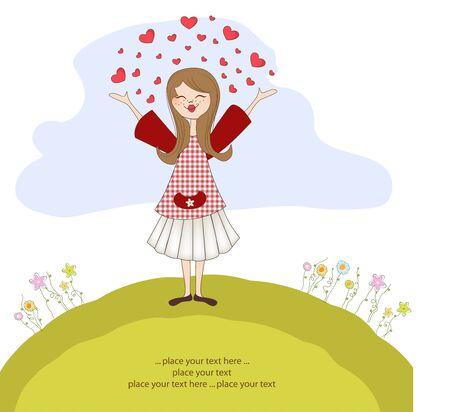 fantasize: Pretty girl en el amor