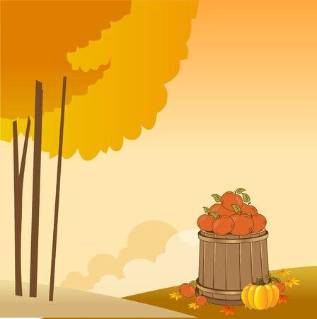 Autumn background Stock Vector - 11021421