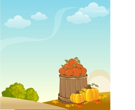 Autumn background Stock Vector - 11022588