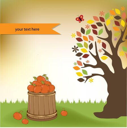 Autumn background Stock Vector - 11022146