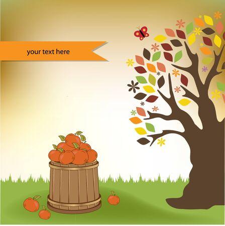 Autumn background Stock Vector - 11022146