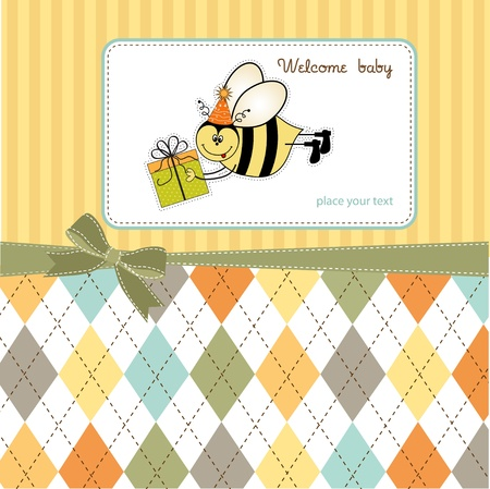 bee party: welcome baby