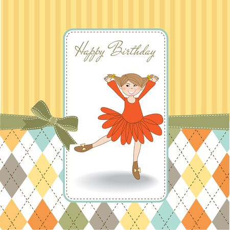 birthday angel:  happy birthday card