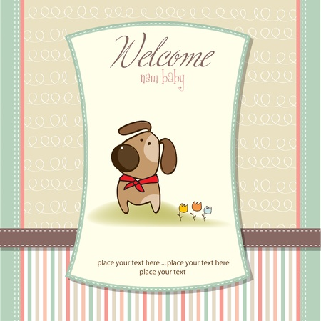 new arrival: new baby arrived Illustration