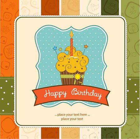buttercream: Buon Compleanno Cupcake