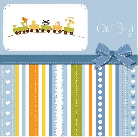 welcome baby boy Stock Vector - 11023179