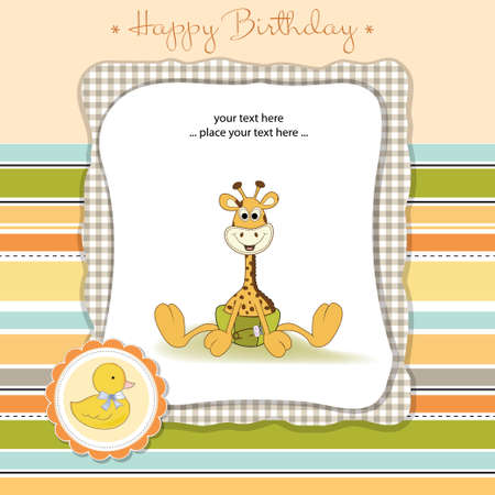 welcome baby  Illustration