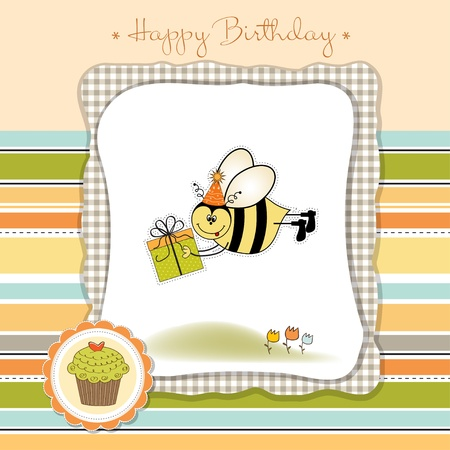 happy birthday card Stock Vector - 11023147