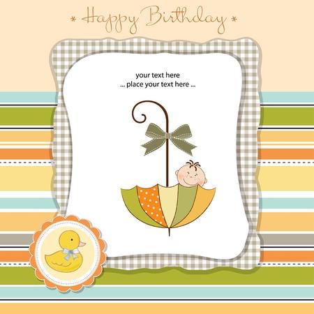 happy birthday card Stock Vector - 11023187