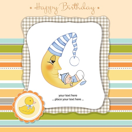 happy birthday card Stock Vector - 11023244