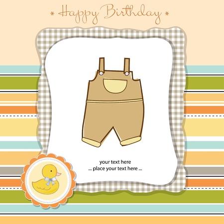 happy birthday card Stock Vector - 11023153