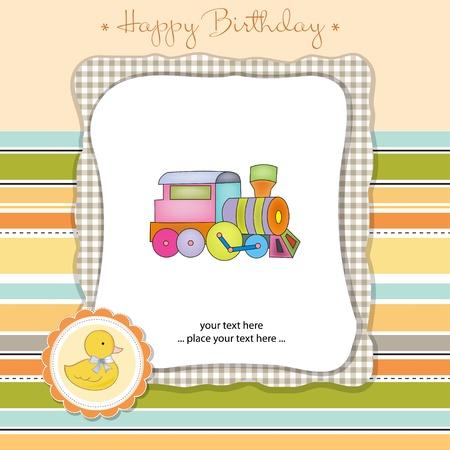 happy birthday card Stock Vector - 11023189