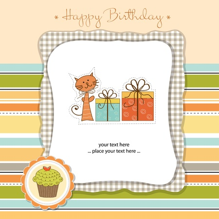 happy birthday card Stock Vector - 11023181