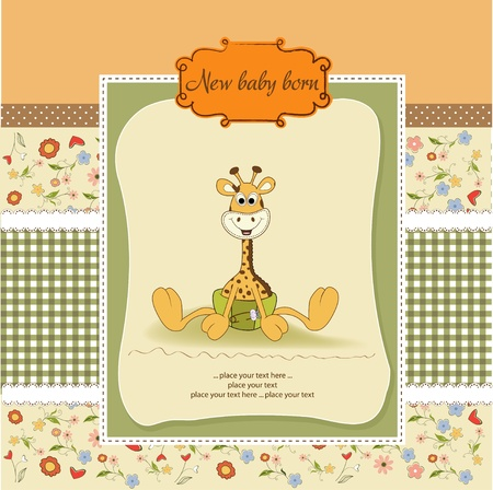 baby announcement: new baby announcement card