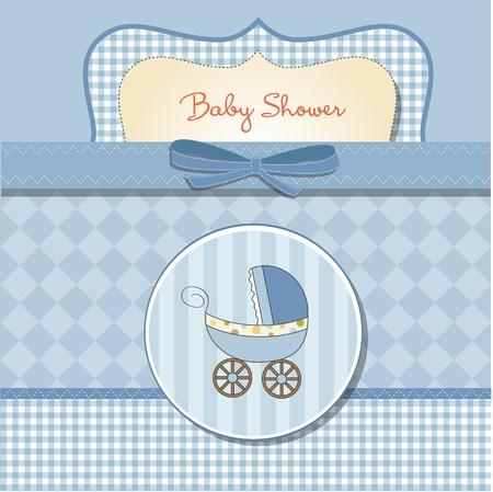 childish: romantic baby shower card