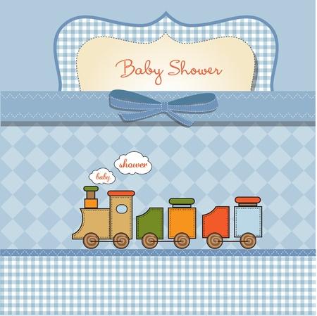 beb� rom�ntica tarjeta de ducha