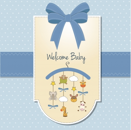 baby boy shower: welcom new baby