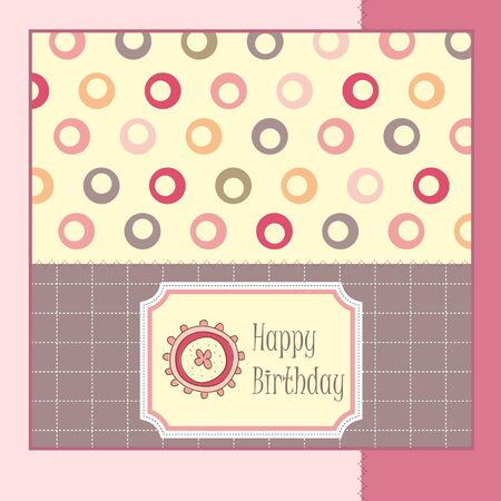 greeting card template design Stock Vector - 11560846