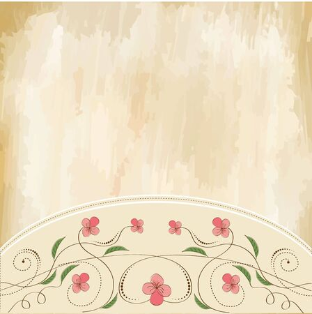 customizable floral background Stock Vector - 11497807