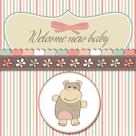 girl in shower: romantic baby shower card