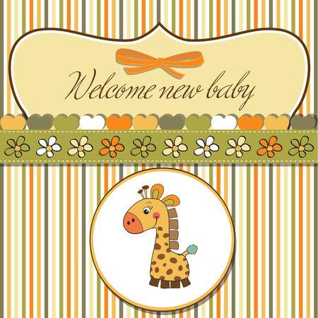 playfulness: romantic baby shower card