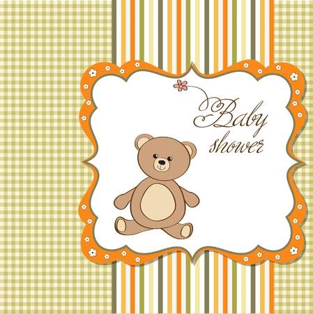 bebé romántica tarjeta de ducha