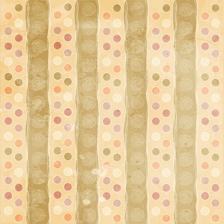 Beautiful and vintage seamless background Stock Vector - 12786937