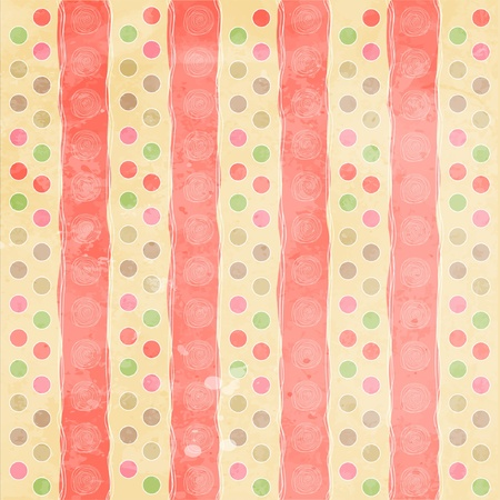 sweet background: Beautiful and vintage seamless background