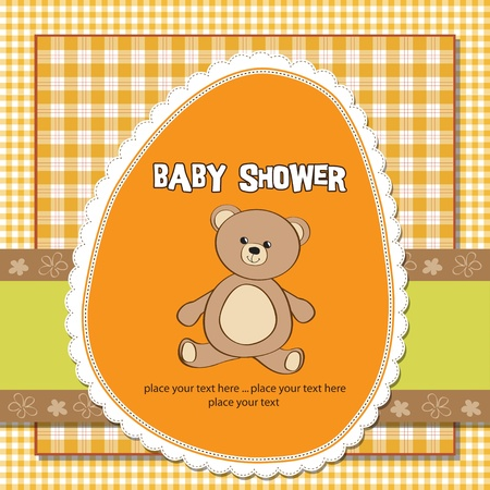 specifically: romantic baby shower card