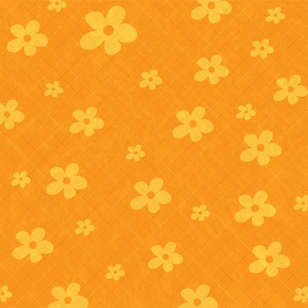 seamless pattern background with flowers  Vector