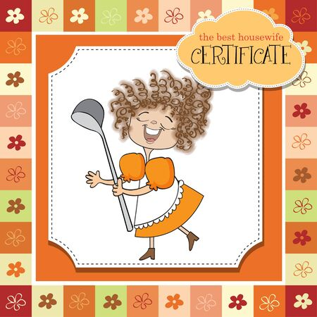 the best wifehouse certificate Illustration