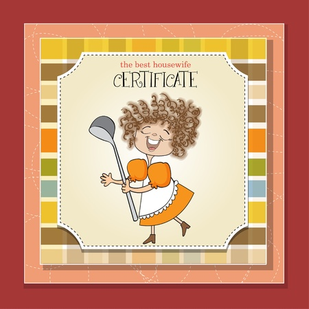 the best wifehouse certificate Stock Vector - 13423277