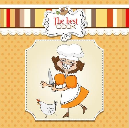 fartuch: najlepszym kucharzem