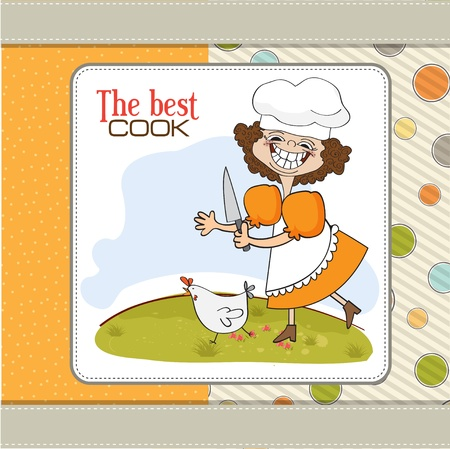 appetite: the best cook Illustration