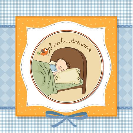 new baby boy arrived Stock Vector - 13697634