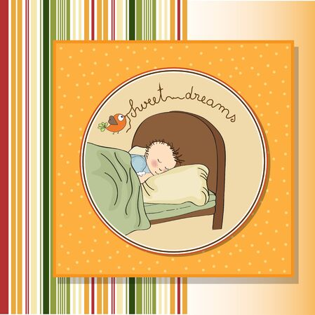 new baby boy arrived Stock Vector - 13697637