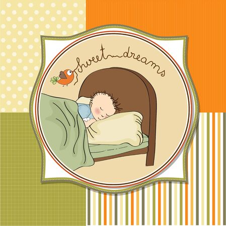 new baby boy arrived Stock Vector - 13697608