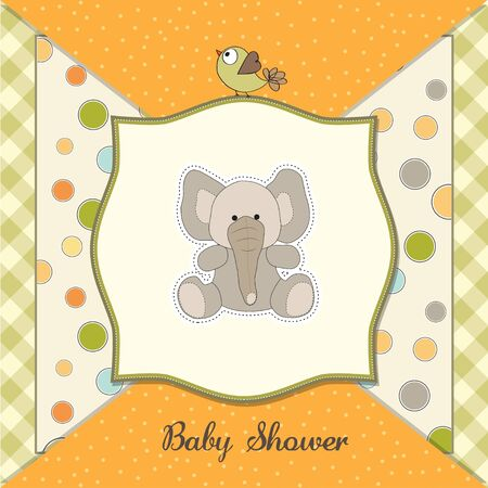 baby announcement card: romantic baby announcement card