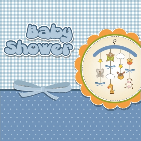 new baby: new baby boy announcement card