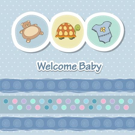 small reptiles: bambino carta di doccia con animali divertenti