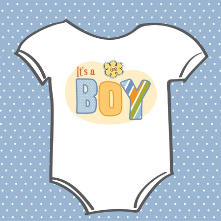 baby boy shower: baby boy announcement card