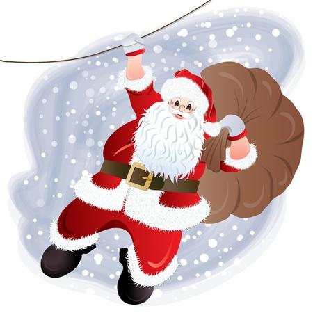 one year old: Santa Claus, el dise�o de tarjetas de felicitaci�n en formato