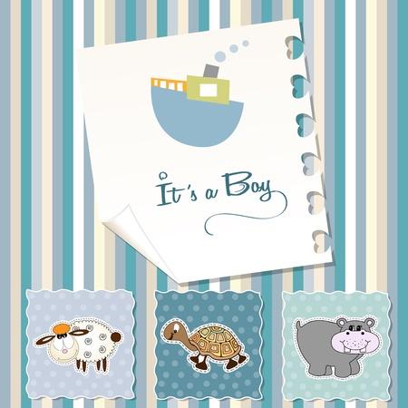 turtles love: baby boy shower invitation