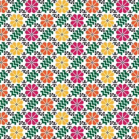 rushnik: seamless ethnic pattern, illustration in vector format