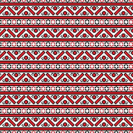 seamless ethnic pattern, illustration in vector format Vector