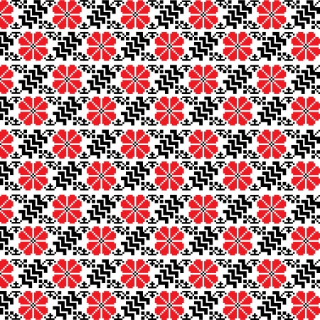 seamless ethnic pattern, illustration in vector format Vector
