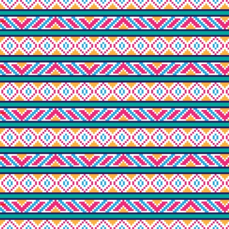 rushnik: seamless ethnic pattern, illustration in vector format