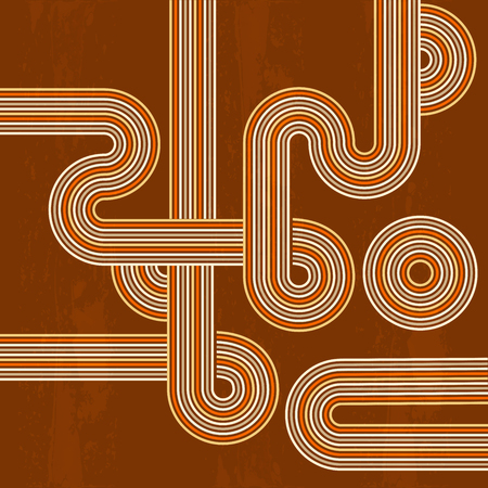 retro abstract background in vector format Vector