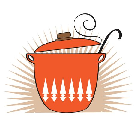 Cooking pan icon, vector illustration Illustration